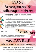 Stage d'Arrangements de Collectages à Malzéville 54220 Malzéville du 28-01-2017 à 08:00 au 28-01-2017 à 15:30