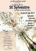 Soirée Saint-Sylvestre à Beyren-lès-Sierck 57570 Beyren-lès-Sierck du 31-12-2016 à 18:00 au 01-01-2017 à 01:00