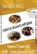 Inter-Danses Ateliers Découverte à Golbey 88190 Golbey du 29-01-2017 à 13:00 au 29-01-2017 à 16:00