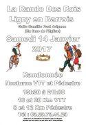 Rando des Rois Ligny-en-Barrois Nocturne VTT et Pédestre 55500 Ligny-en-Barrois du 14-01-2017 à 18:00 au 14-01-2017 à 22:30