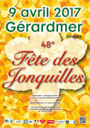 Fête des Jonquilles Gérardmer 88400 Gérardmer du 08-04-2017 à 14:30 au 09-04-2017 à 17:00