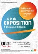 Exposition Artistes Galerie Têt'de l'Art Forbach 57600 Forbach du 14-01-2017 à 17:30 au 18-02-2017 à 17:00