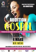 Auditions Nancy Gospel Koncept à Nancy 54000 Nancy du 04-03-2017 à 09:00 au 04-03-2017 à 11:30