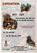Exposition 540 Ans Bataille de Nancy à Ludres 54710 Ludres du 27-01-2017 à 15:03 au 25-02-2017 à 15:03