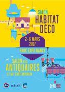 Salon Habitat Déco Antiquaires à Nancy 54500 Vandoeuvre-lès-Nancy du 02-03-2017 à 09:00 au 06-03-2017 à 17:00