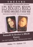 Théâtre à Gorcy Les Biscuits Roses 54730 Gorcy du 11-02-2017 à 19:30 au 11-02-2017 à 21:50