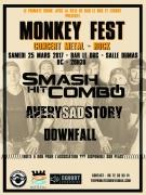 Monkey Fest à Bar-le-Duc 55000 Bar-le-Duc du 25-03-2017 à 19:30 au 26-03-2017 à 00:00