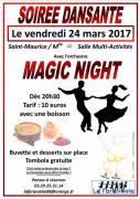 Soirée Dansante à Saint Maurice-sur-Moselle 88560 Saint-Maurice-sur-Moselle du 24-03-2017 à 19:30 au 25-03-2017 à 02:00