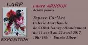 Exposition Peinture LARP à Houdemont 54180 Houdemont du 11-04-2017 à 10:00 au 22-04-2017 à 19:00