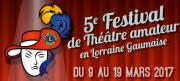 Festival Théâtre Amateur Chenois 6761 Virton (Belgique) du 09-03-2017 à 19:00 au 19-03-2017 à 18:00