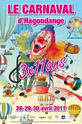 Carnaval d'Hagondange  57300 Hagondange du 28-04-2017 à 17:00 au 30-04-2017 à 16:00