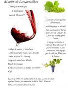 Soirée Gastronomique et Oenologique près de Metz 57530 Courcelles-Chaussy du 11-03-2017 à 18:00 au 12-03-2017 à 11:00