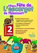 Fête de l'Escargot à Thiaucourt  54470 Thiaucourt-Regniéville du 02-07-2017 à 09:00 au 02-07-2017 à 23:30