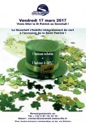 Saint Patrick au Snowhall Amnéville 57360 Amnéville du 17-03-2017 à 16:00 au 17-03-2017 à 20:00