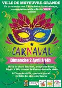 Défilé Carnaval à Moyeuvre-Grande 57250 Moyeuvre-Grande du 02-04-2017 à 14:00 au 02-04-2017 à 16:00