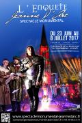 Soutenez le Spectacle Monumental Jeanne d'Arc Domremy 88630 Domrémy-la-Pucelle du 23-04-2017 à 20:30 au 08-06-2017 à 21:59