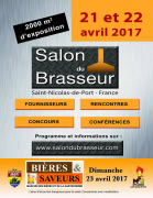 Salon du Brasseur à Saint-Nicolas-de-Port  54210 Saint-Nicolas-de-Port du 21-04-2017 à 10:00 au 22-04-2017 à 18:00