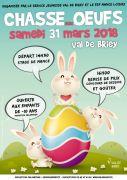 Chasse aux Oeufs à Briey 54150 Briey du 31-03-2018 à 14:45 au 31-03-2018 à 16:00