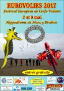 Eurovolies Festival Cerf-Volant à Vandoeuvre 54500 Vandoeuvre-lès-Nancy du 07-05-2017 à 10:00 au 08-05-2017 à 18:00