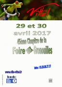 45ème Foire aux Grenouilles de Vittel  88800 Vittel du 29-04-2017 à 08:00 au 30-04-2017 à 18:00