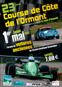 Course de Côte à Saint Jean d'Ormont 88210 Saint-Jean-d'Ormont du 01-05-2017 à 08:45 au 01-05-2017 à 17:00