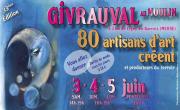 80 Artisans d'Art Créent au Moulin Givrauval 55500 Givrauval du 03-06-2017 à 14:00 au 05-06-2017 à 19:00