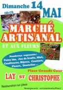 Marché Artisanal à Lay-Saint-Christophe 54690 Lay-Saint-Christophe du 14-05-2017 à 10:00 au 14-05-2017 à 17:00