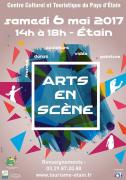 Arts en Scène à Etain 55400 Étain du 06-05-2017 à 14:00 au 06-05-2017 à 18:00
