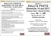 Rallye Photo au Château Fabert Moulins-lès-Metz 57160 Moulins-lès-Metz du 14-05-2017 à 08:00 au 14-05-2017 à 17:30