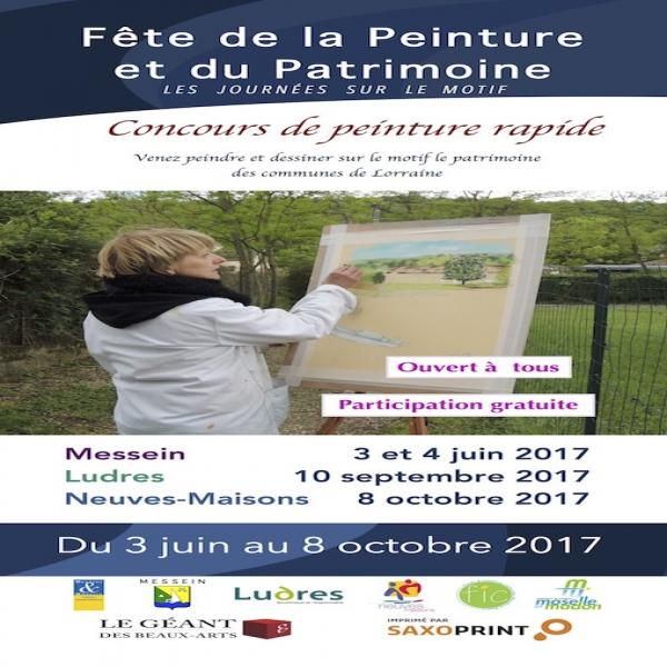 Concours de Peinture Rapide à Messein - Messein Jeu, concours Meurthe-et-Moselle - LorraineAUcoeur