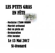 Les P'tits Gras en Fête à Saint-Léonard 88650 Saint-Léonard du 13-05-2017 à 17:00 au 13-05-2017 à 23:59