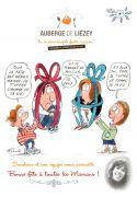 Menus Fêtes des Mères Auberge de Liézey 88400 Liézey du 28-05-2017 à 11:30 au 28-05-2017 à 14:00