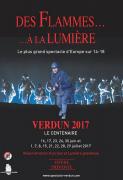 Son et Lumière Verdun des Flammes à la Lumière 55100 Verdun du 16-06-2017 à 22:00 au 30-07-2017 à 01:30