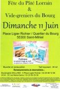 Fête du Pâté Lorrain à Saint-Mihiel 55300 Saint-Mihiel du 11-06-2017 à 06:00 au 11-06-2017 à 18:00