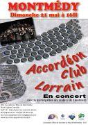 Concert Accordéon Club Lorrain à Montmédy 55600 Montmédy du 21-05-2017 à 16:00 au 21-05-2017 à 18:00