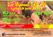 Courses Maboul Solan Base de Loisirs Solan Moineville 54580 Moineville du 05-06-2017 à 08:30 au 05-06-2017 à 13:00