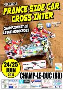 Championnat de France Side Car Cross à Champ-le-Duc 88600 Champ-le-Duc du 24-06-2017 à 08:00 au 25-06-2017 à 19:00
