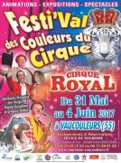 Festival des Couleurs du Cirque à Vaucouleurs 55140 Vaucouleurs du 31-05-2017 à 14:30 au 04-06-2017 à 16:00