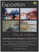 Exposition d'Aquarelles à Essey-lès-Nancy 54270 Essey-lès-Nancy du 10-06-2017 à 14:00 au 18-06-2017 à 18:00