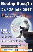 Boulay Bouq'In Salon du Livre à Boulay 57220 Boulay-Moselle du 24-06-2017 à 10:00 au 25-06-2017 à 19:00