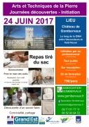 Initiation Arts et Techniques Pierre à Vaucouleurs 55140 Vaucouleurs du 24-06-2017 à 09:00 au 24-06-2017 à 16:00