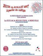 Fête de la Révolution Maison Carrée Nancy Sud