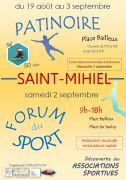 Forum du Sport et Patinoire à Saint-Mihiel 55300 Saint-Mihiel du 19-08-2017 à 10:00 au 03-09-2017 à 19:00