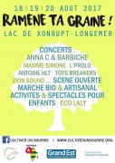 Festival Ramène Ta Graine à Xonrupt-Longemer 88400 Xonrupt-Longemer du 18-08-2017 à 20:00 au 20-08-2017 à 18:00