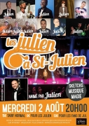 Soirée Les Julien au Capitole Saint-Julien-lès-Metz 57070 Saint-Julien-lès-Metz du 02-08-2017 à 20:00 au 02-08-2017 à 22:00