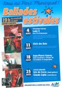 Ballades Estivales à Ars-sur-Moselle 57130 Ars-sur-Moselle du 04-08-2017 à 19:00 au 25-08-2017 à 21:00