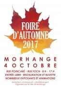 Grande Foire d'Automne à Morhange 57645 Morhange du 04-10-2017 à 08:00 au 04-10-2017 à 17:00
