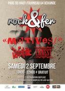 Festival Rock'n'fer Parc haut-fourneau U4 à Uckange 57270 Uckange du 02-09-2017 à 19:00 au 03-09-2017 à 02:00