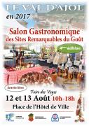 Salon Gastronomique Sites Remarquables Goût au Val d'Ajol 88340 Le Val-d'Ajol du 12-08-2017 à 10:00 au 13-08-2017 à 18:00