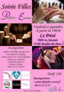 Soirée Filles à Metz 57160 Moulins-lès-Metz du 08-09-2017 à 19:30 au 08-09-2017 à 22:30
